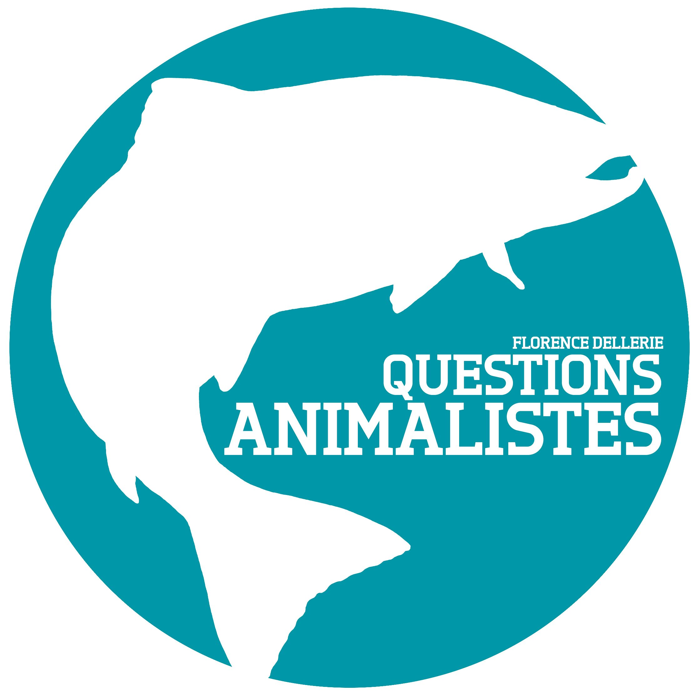 Questions animalistes - logo - Florence Dellerie