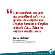 Citation Barbara Lefebvre 2019