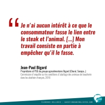 Citation Jean-Paul Bigard 2016