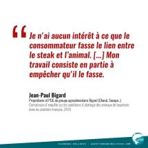 Citation Jean-Paul Bigard 2016