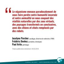 Citation Porcher Denhez Ariès 2018