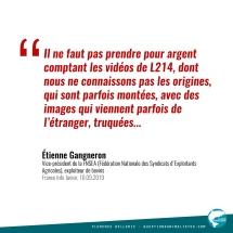 Citation Étienne Gangneron 2019