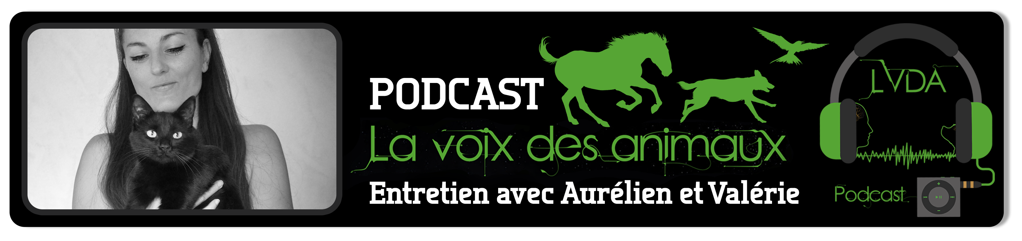 Bannière Podcast LVDA