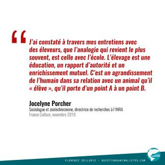 Citation Jocelyne Porcher 2019