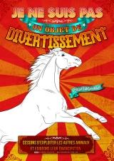 """Visuel """"Je ne suis pas un objet de divertissement"""" - Florence Dellerie"""