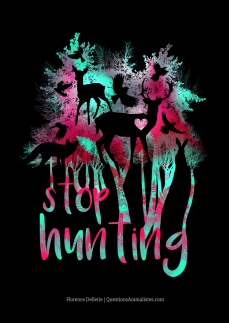 Stop hunting - version noire